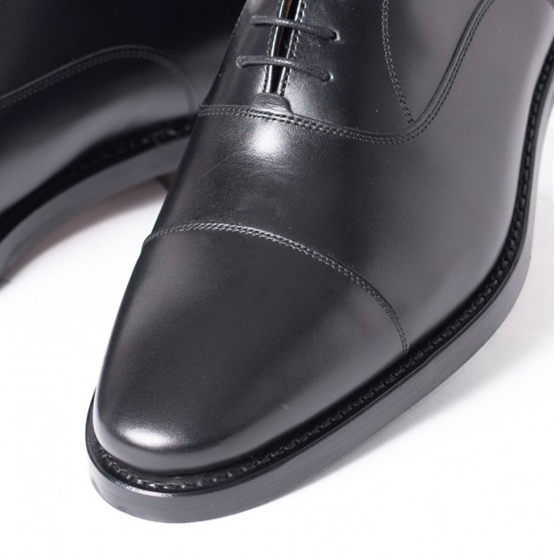 グッドイヤーウェルト製法 Berwick Spain Dainitesole piso rubber men`s shoes negro style Edition