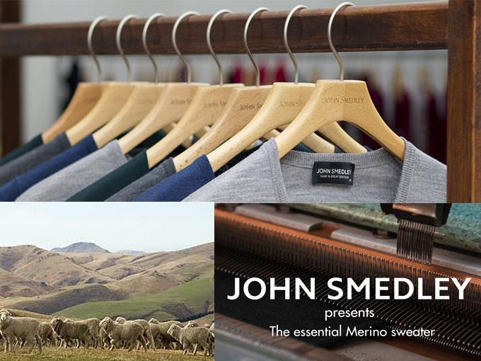 JOHN SMEDLEY|ジョン スメドレー 30ゲージ【S3798】 コットン100%