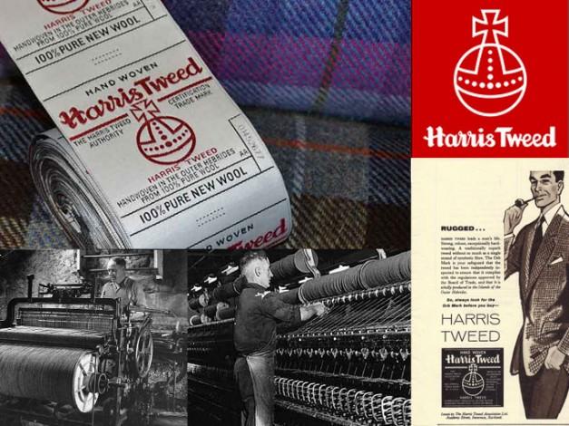 harris tweed HARRIS TWEED ハリス ツィード 英国 ヘリンボーン ガンクラブ ブラックウォッチ