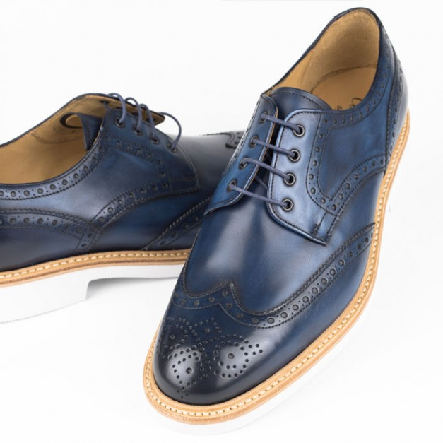 Cordwainer comfort right コードウェイナー Rubber Sole ラバーソール COWES OceanBlue